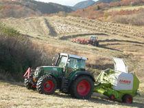 阿蘇の草原の草からバイオ燃料をつくります